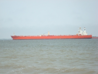 "Aframax Tanker MT ""EAGLE COLUMBUS"" (Image Source: © Karatzas Marine Advisors & Co.)"