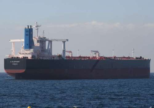 "MT ""G ELEPHANT"" (2012-built at Daewoo VLCC)"