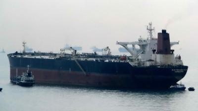 "MT ""SHINYO NAVIGATOR""  (1996, HHI, 300K DWT VLCC); Image source: shipspotting.com"